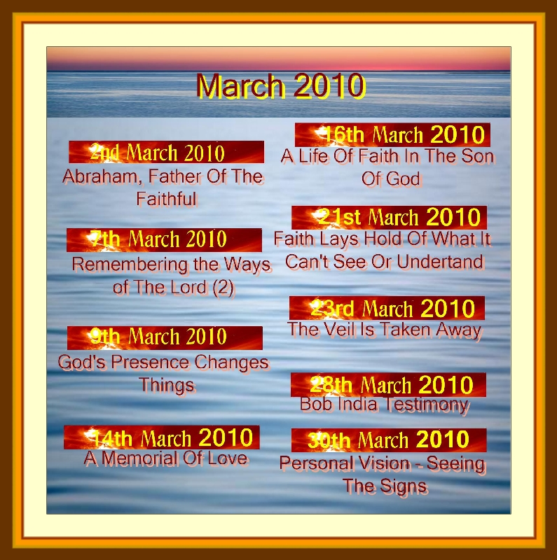 MARCH 2010 Titles