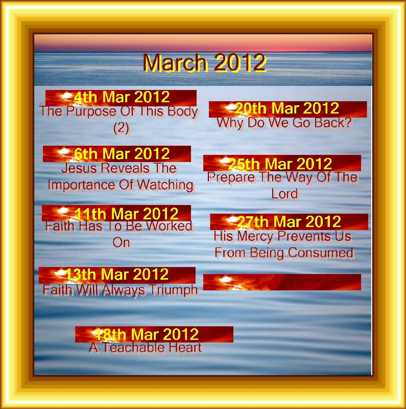 MARCH 2012 Titles