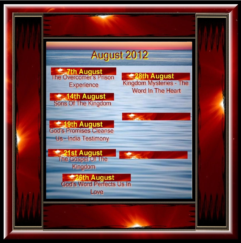 AUGUST 2012 Titles